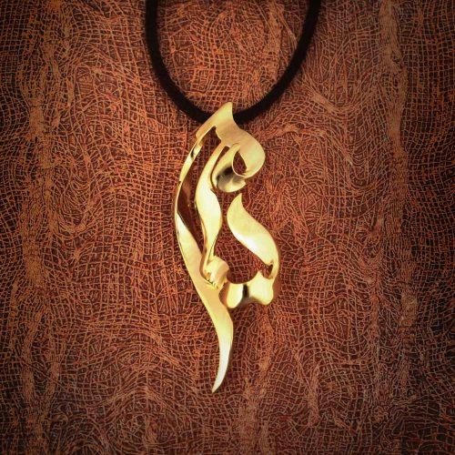 گردنبند طلا اسم سامی