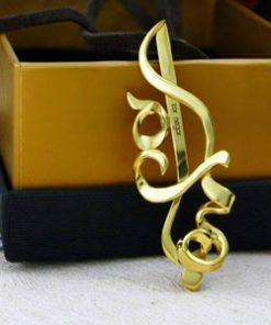 گردنبند طلا اسم بهاره