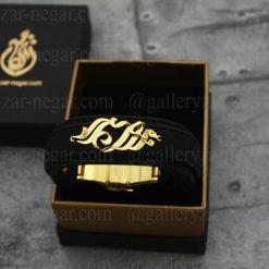دستبند اسم مجید طلا