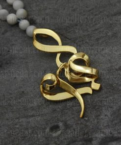 گردنبند پلاک اسم زهرا طلا