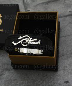 دستبند اسم مسعود طلا