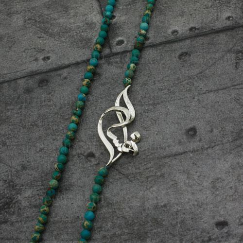 گردنبند پلاک اسم مهسا طلا