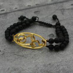 دستبند اسم سمانه طلا