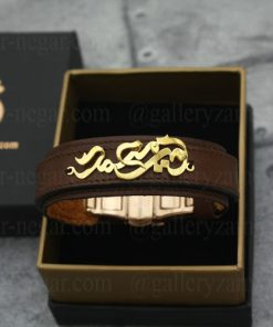 دستبند اسم امیر محمد طلا