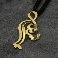 گردنبند اسم سمیرا طلا