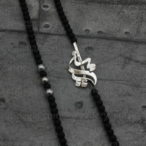 گردنبند پلاک اسم امین