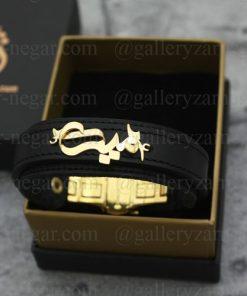 دستبند طلا اسم امید