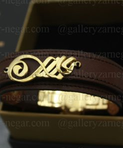 دستبند طلا اسم جابر