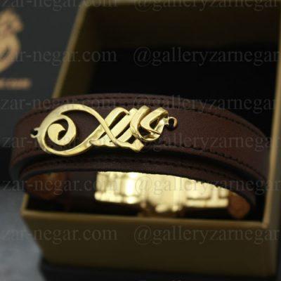 دستبند طلا اسم جلال